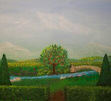 His Garden by propheticart