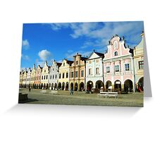 Telc, Czech Republic Greeting Card