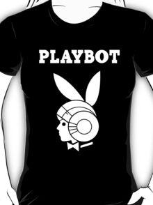 Playbot - White Logo T-Shirt