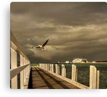 Sorrento - near ferry terminal Canvas Print