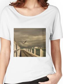 Sorrento - near ferry terminal Women's Relaxed Fit T-Shirt