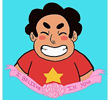 Steven believes in you Photographic Print
