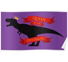 Queen of the Dinosaurs Poster