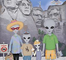 Mount Rushmore Summer Vacation  by Kim  Harris