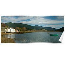 Boat sheds Poster