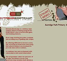 Extreme Bootcamp website by Teresa Schultz