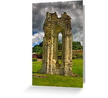 Kirkham Abbey - North Yorkshire Greeting Card