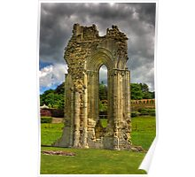 Kirkham Abbey - North Yorkshire Poster