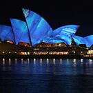 Opera House & Colours (1) by Scott Westlake