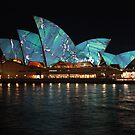 Opera House & Colours (2) by Scott Westlake