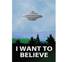 Planet X Files Photographic Print