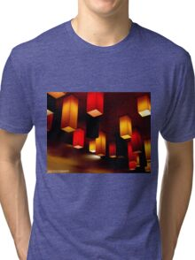 Colour Blocks Tri-blend T-Shirt