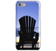 Dusk by the bay iPhone Case/Skin