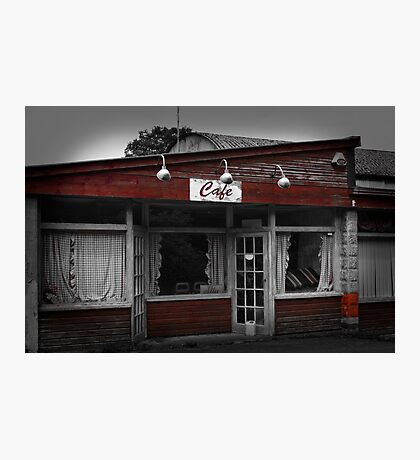 The Greasy Spoon - R.I.P Photographic Print