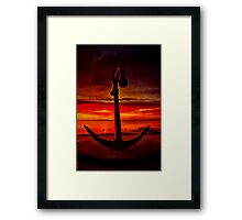 """The Anchor Holds"" Framed Print"