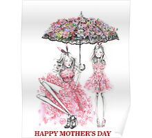 Happy Mother's Day print Poster