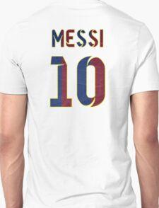Barcelona's Messi #10 T-Shirt