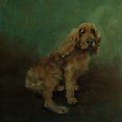 Goldie - The Yappy Cockerspaniel by Jaana Day
