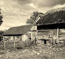 The Barns of Äskhult by HELUA