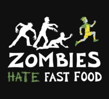 Zombies Hate Fast Food One Piece - Long Sleeve