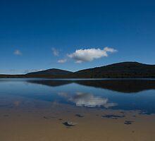 Lake behind Barn Bluff by Andrew Poppleton