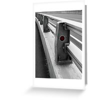 Red Reflector Greeting Card