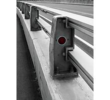 Red Reflector Photographic Print