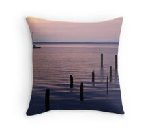 Evening on Lake Monroe 1 Throw Pillow