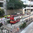 Queen's Way, Hong Kong by Maggie Hegarty