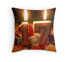 My 17th Throw Pillow