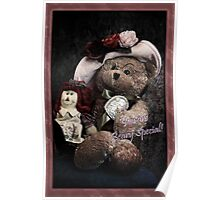 You Are Beary Special Card Poster