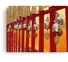 Temple fence Canvas Print