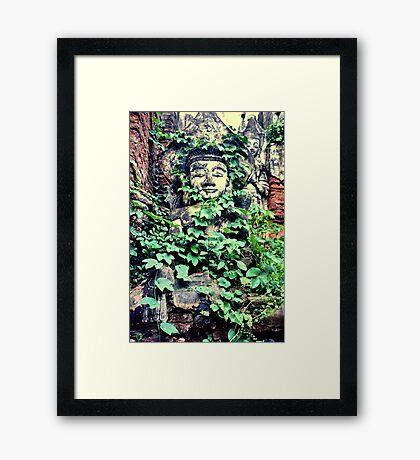 Lost city, Shan State, Burma Framed Print