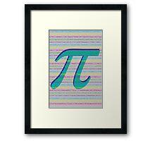 MMMMM, Pi Framed Print