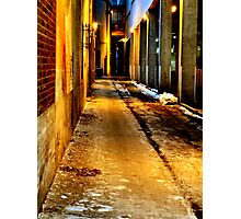 Back Alley Way Photographic Print