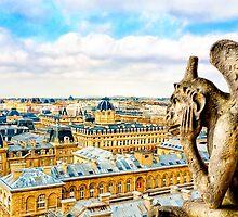 Paris - Oh Hum! - Parisian Gargoyle by Mark Tisdale