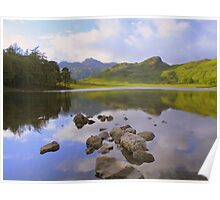 The Lake District: Reflections in Blea Tarn Poster