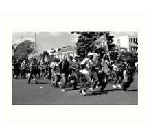 Martinque Riots  Art Print