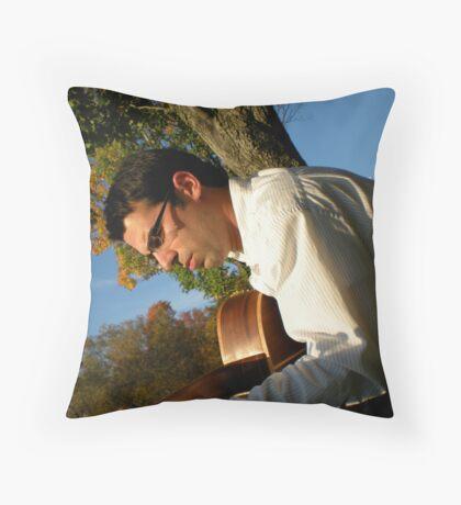 Strummin' in the Sun Throw Pillow