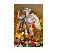 Archangel Saint Michael Art Print