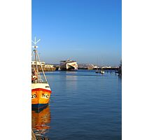 Condor Vitesse At Weymouth Harbour, Dorset Photographic Print