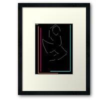 clever little rabbit Framed Print