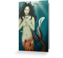 The Coy Koi Greeting Card