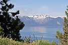 """""""Lake Tahoe and Sierra Nevada Mountains"""" by Lynn Bawden"""