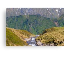 Alpine Layers Canvas Print