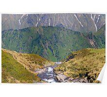 Alpine Layers Poster