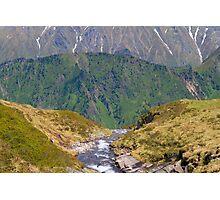 Alpine Layers Photographic Print