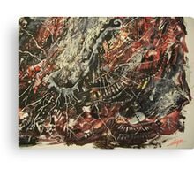 December Heartbreak oil on canvas Canvas Print