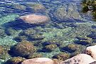 """Rocks, Ripples and Water of Lake Tahoe"" by Lynn Bawden"