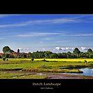 Dutch Landscape by Adri  Padmos